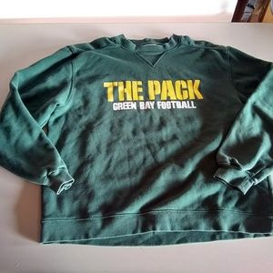 Medium Packers pullover sweatshirt